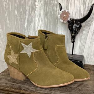 Suede 'Star' Ankle Boots 9